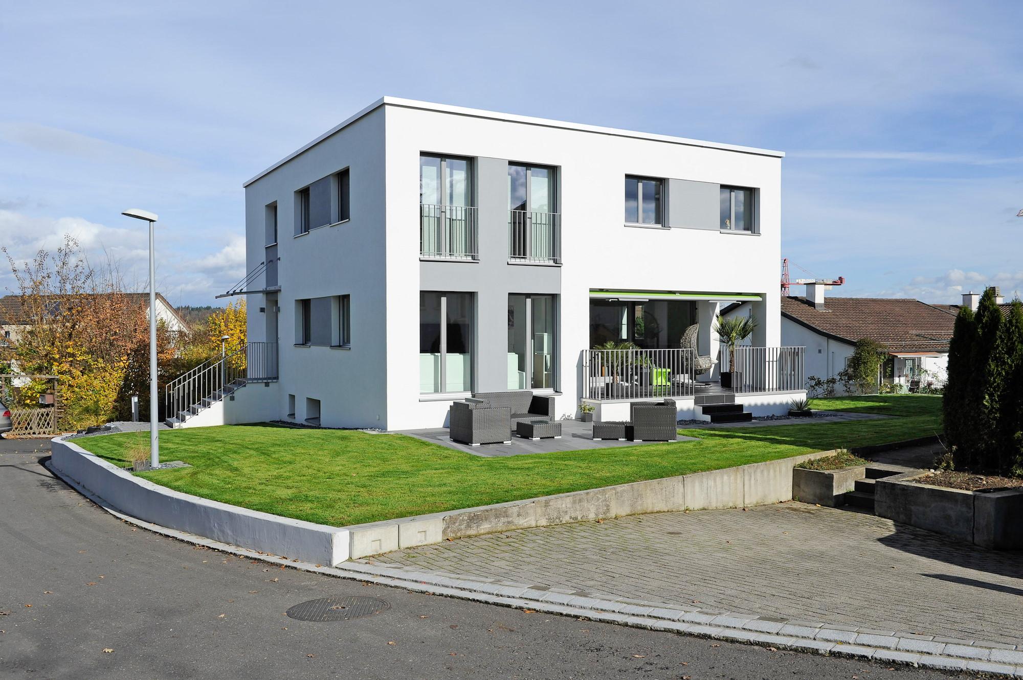 umbau z rich aufstockung einfamilienhaus rickenbach. Black Bedroom Furniture Sets. Home Design Ideas