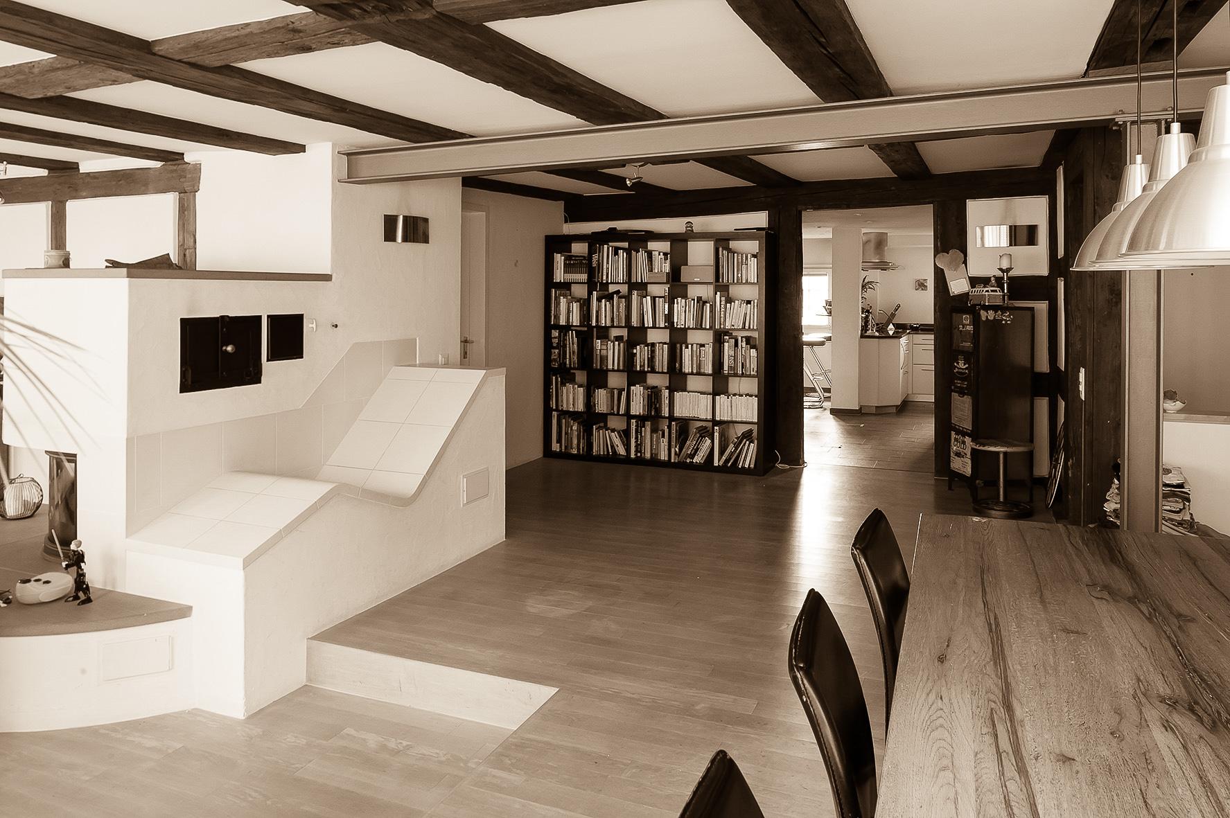 umbau z rich umbau haus in hettlingen. Black Bedroom Furniture Sets. Home Design Ideas